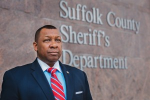 Suffolk County Sheriff and Massachusetts Sheriffs Association President Steven W. Tompkins.